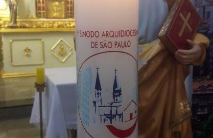 Celebração na igreja São Pedro marca início dos trabalhos do Sínodo na Paróquia