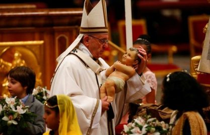 As celebrações pontifícias de novembro a janeiro