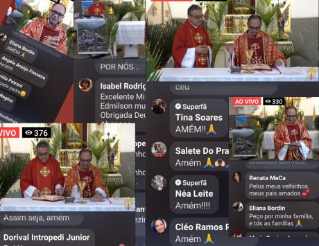 As mídias sociais e a Semana Santa na quarentena