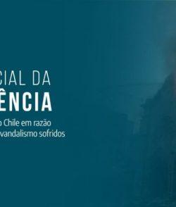 CNBB manifesta solidariedade à Igreja no Chile pelos templos profanados no último dia 18 de outubro
