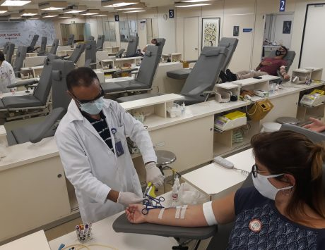 Posto de coleta de sangue do Hospital Mandaqui precisa de doações com urgência
