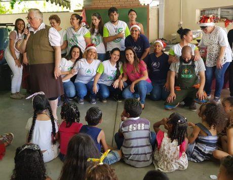 Pastoral da Criança na Paróquia São Pedro também ajudou as famílias durante a pandemia