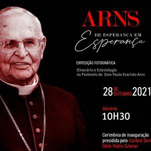 Basílica de Sant'Ana realiza exposição fotográfica para marcar o Centenário de Dom Paulo Evaristo Arns